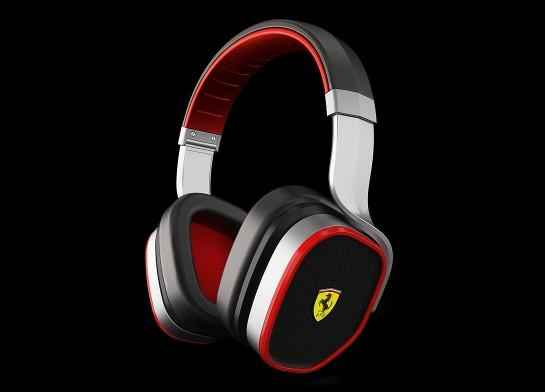 Logic3 Ferrari Scuderia Headphones