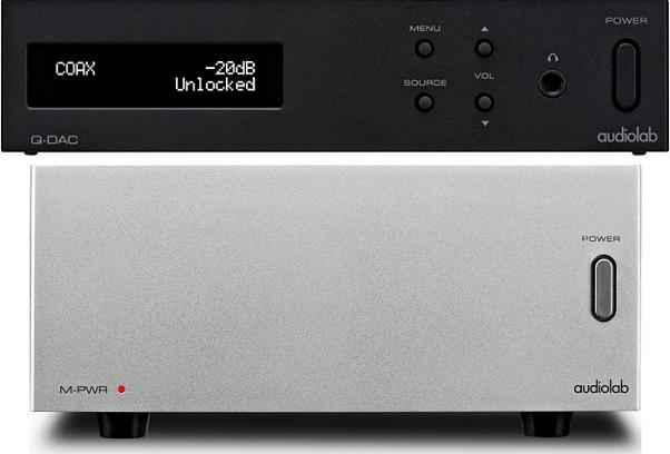 audiolab Q-DAC M-PWR