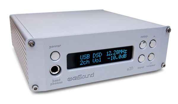 exaSound Audio Design e20 Mk III DAC