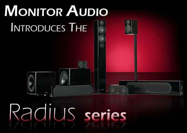 Monitor Audio Radius Speakers 2013