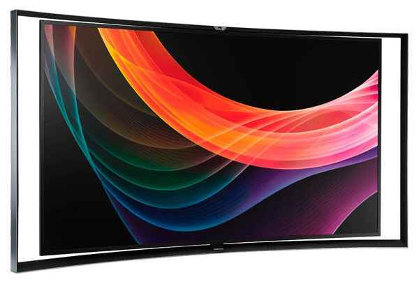 Samsung KN55S9C Curved Screen OLED TV 02