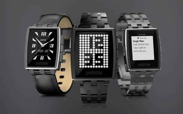 Pebble Steel Smart Watch (Custom)