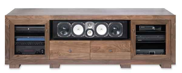 standout designs haven series av furniture novo audio and
