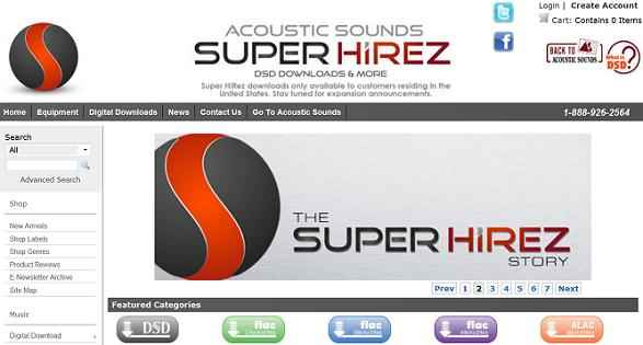 Acoustic Sounds - Super Hi Rez