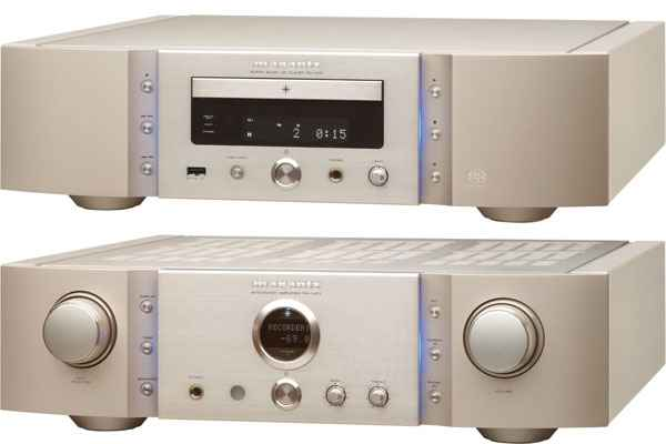 Marantz PM-14S1 Integrated Amplifier and SA-14S1 Super Audio CD Player and DAC