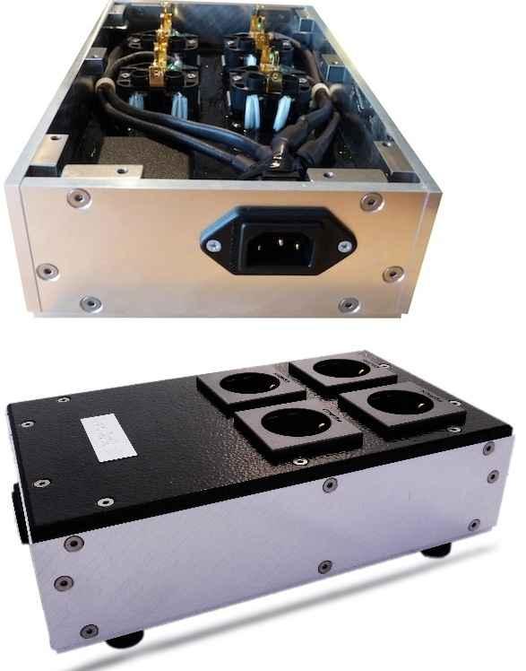 Akiko Audio Powerbase Quattro