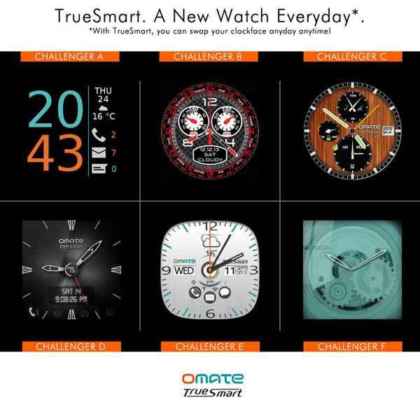 Omate TrueSmart smart watch