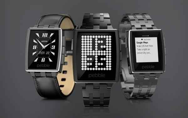 Pebble Steel Smart Watch (Custom)