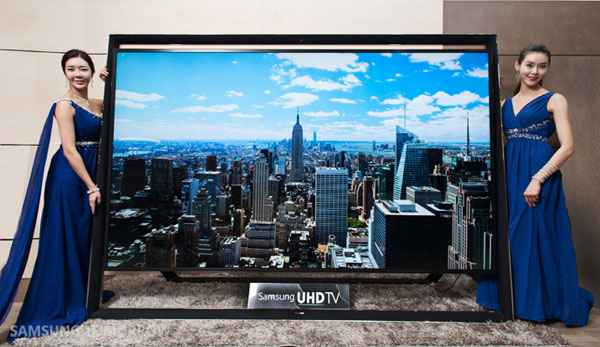 Samsung at CES 2014 - 110-inch 4K (Ultra HD) TV