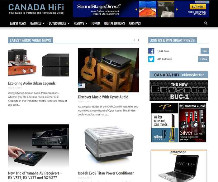 CANADA HiFi New Website 2014 - 02 web