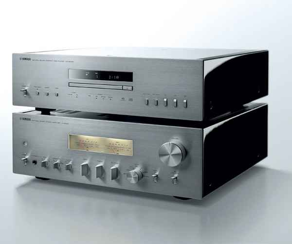 yamaha a s2100 integrated amplifier and cd s2100 cd sacd. Black Bedroom Furniture Sets. Home Design Ideas