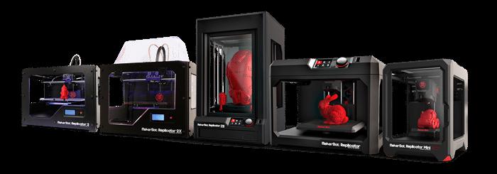 Proto3000 Printer Lineup Range (Custom)