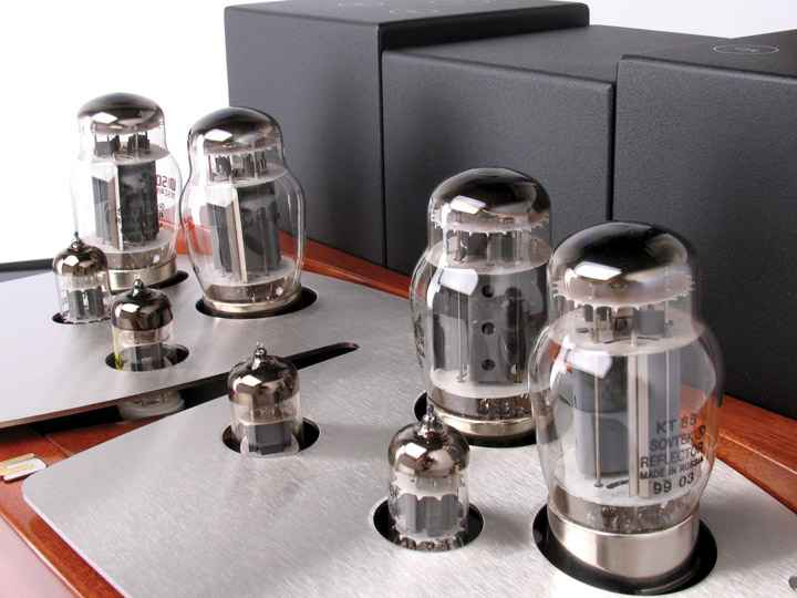 Unison Research Sinfonia Integrated Tube Amplifier web 2