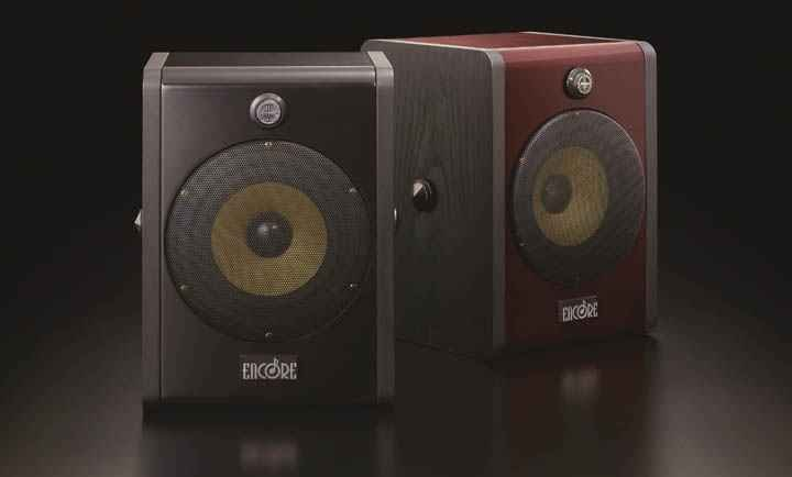 Encore ENC-5 Bookshelf Speakers web