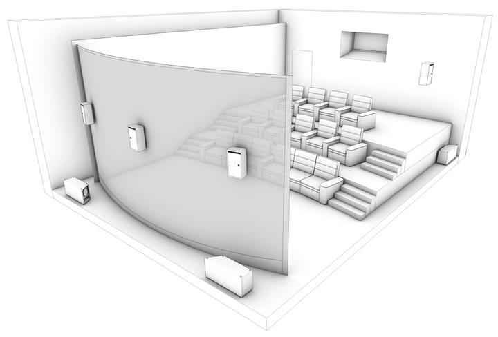 IMAX Private Theatre Rendering 2 (Custom)