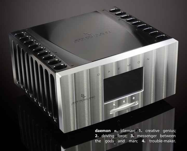 Jeff Rowland Daemon 1500W Super Integrated Amplifier 01