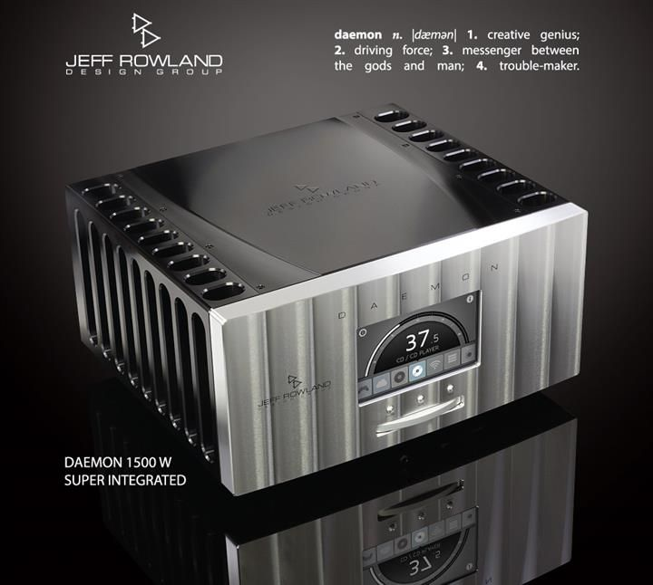 Jeff Rowland Daemon Super Integrated Amp (Custom)