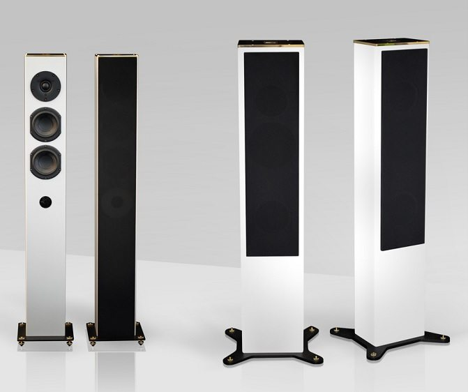 Goldmund Tower Series Loudspeakers