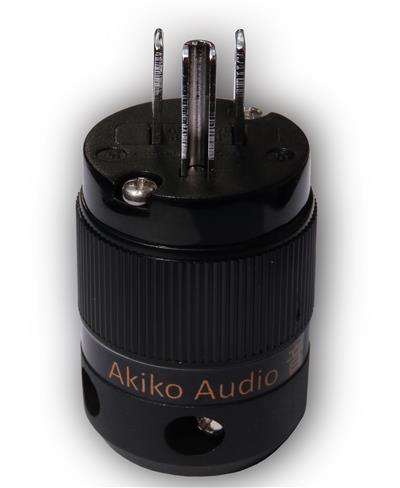 Akiko Audio Powercord HQ - Rhodium Plug - Image 1 (Custom)