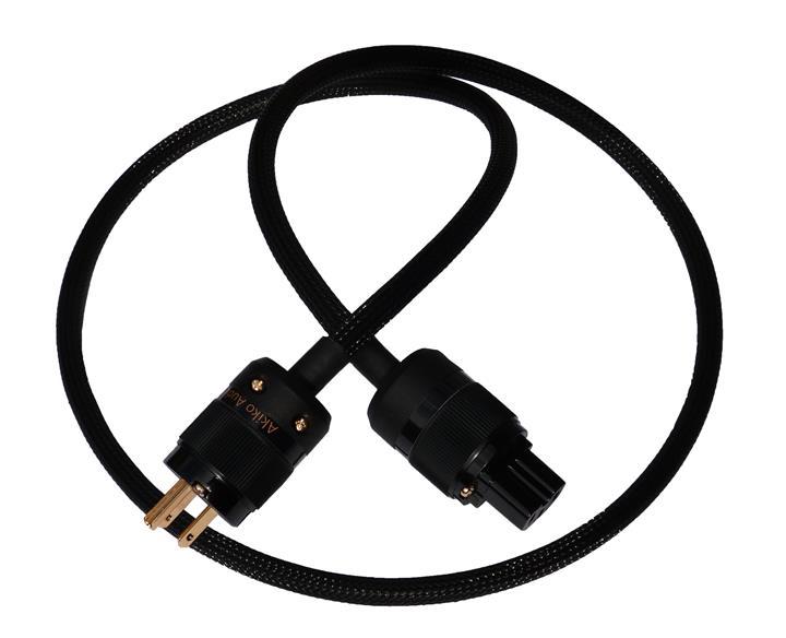 Akiko Audio Powercord HQ - US Gold - Intro Image (Custom)