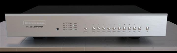 Bryston Releases Highly Anticipated BDA-3 Digital to Analog Converter 01 (Custom)