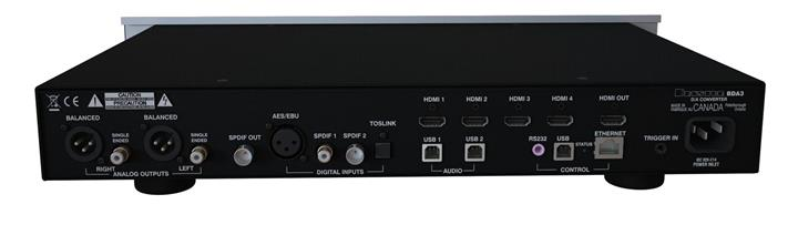 Bryston Releases Highly Anticipated BDA-3 Digital to Analog Converter 03 (Custom)