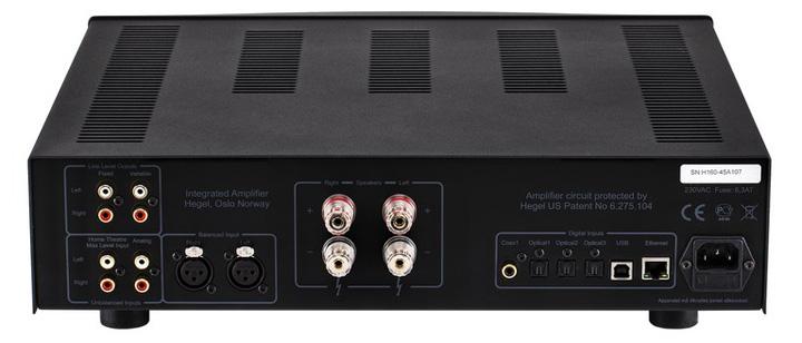 Hegel H160 Integrated Amplifier 03