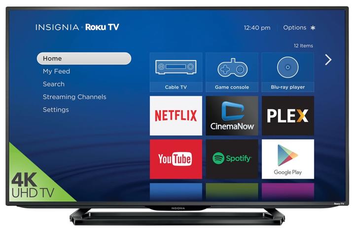 4K UHD Insignia Roku TVs in Canada (Custom)