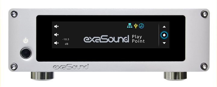 exaSound Audio Design PlayPoint Network Audio Player 01