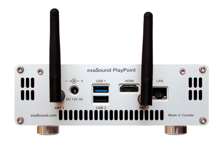 exaSound Audio Design PlayPoint Network Audio Player 02