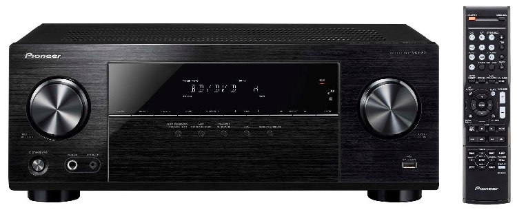 Pioneer AVR front