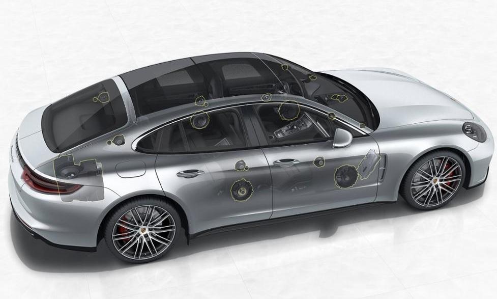 Porsched - Burmester - Panamera 1