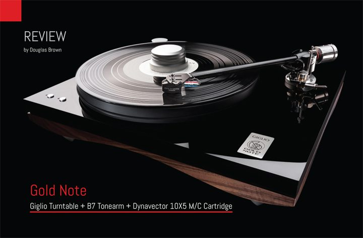 Gold Note Giglio Turntable Review.indd