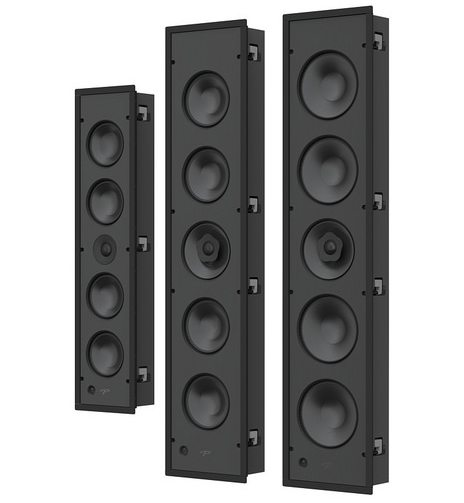 Paradigm CI Pro and Elite in-wall LCR Speakers
