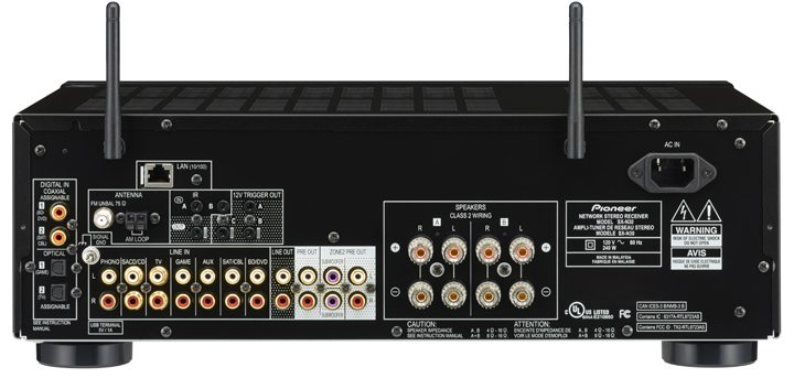 Pioneer Elite SX-N30 Network Stereo Receiver Review 02