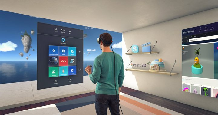 Windows Holographic Platform Windows VR 720