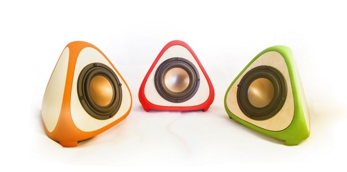 Alienology Audio T3TRA 3D Printed Speakers 02