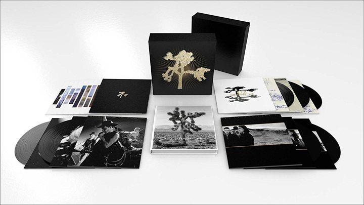 U2 Special 30th Anniversary The Joshua Tree Vinyl LP and CD Box Set