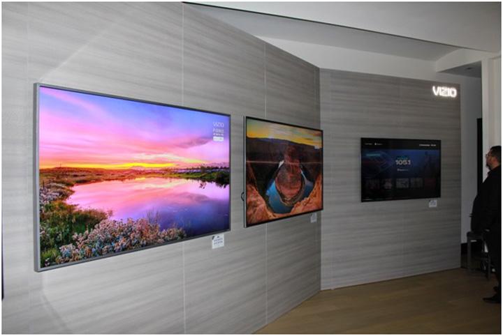 VIZIO 2017 M-Series and P-Series displays 01