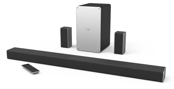 VIZIO Home Theater Sound Bar Collection for 2017 SB3651