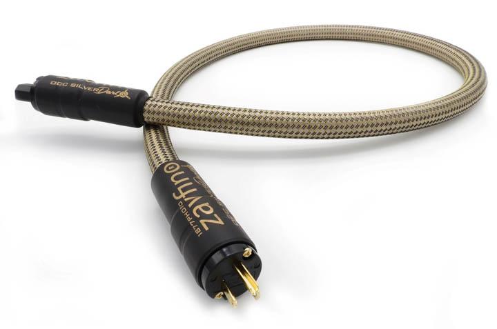 Zavfino OCC Silver Dart Power Cord C