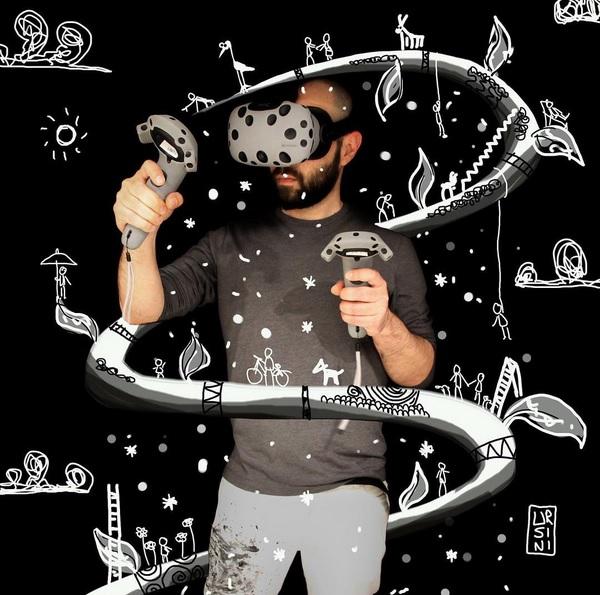 Danilo Ursini VR Artist TAVES 03