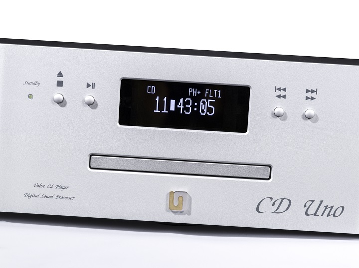 Unison Research Unico 90 Integrated Amplifier and CD Due CD Player Review 03