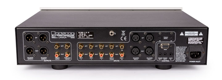 Bryston BP-17 (Cubed Series) preamplifier 02