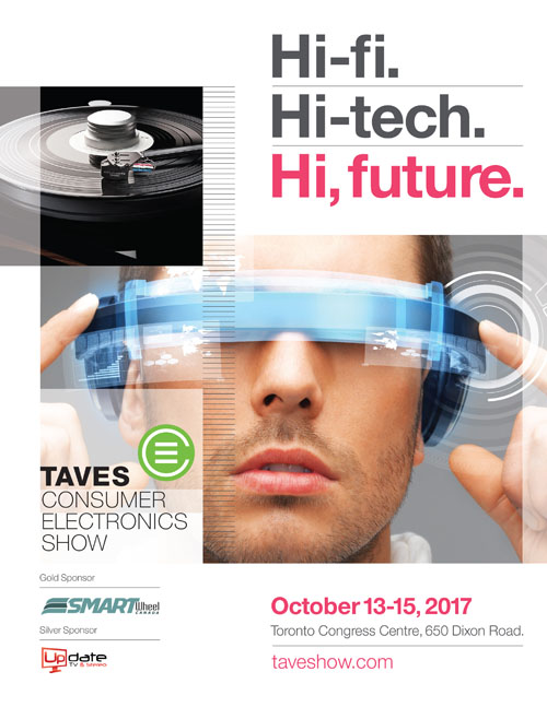 TAVES Consumer Electronics Show Advertisement 2017