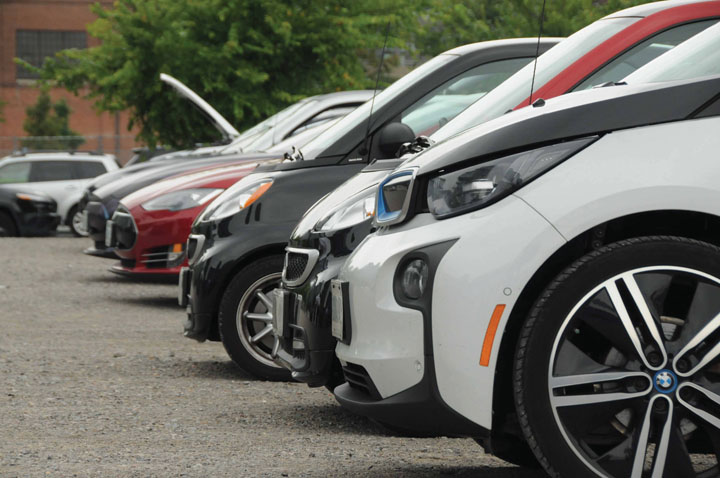 electric cars TAVES 2017 a