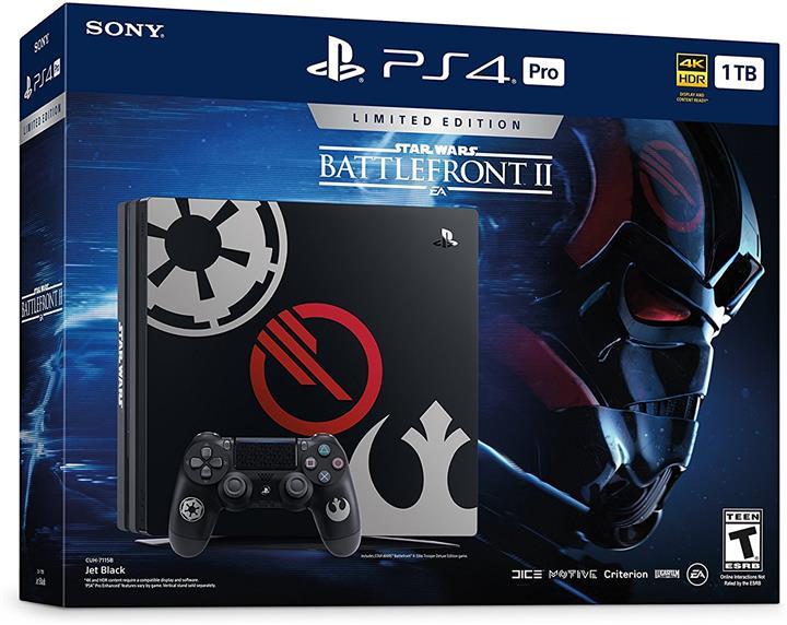 Sony Playstation 4 Pro 1TB Ltd. Ed. - Star Wars Battlefront II (Custom)