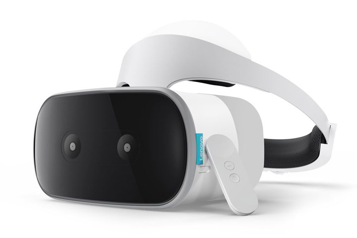 Lenovo Mirage Solo VR headset CES 2018 a