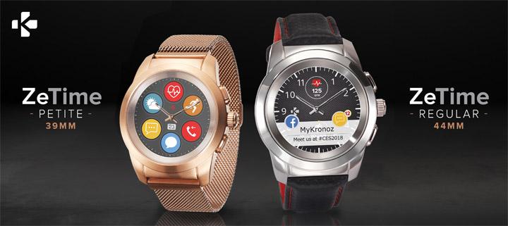 MyKronoz ZeTime Petite Hybrid Smartwatch