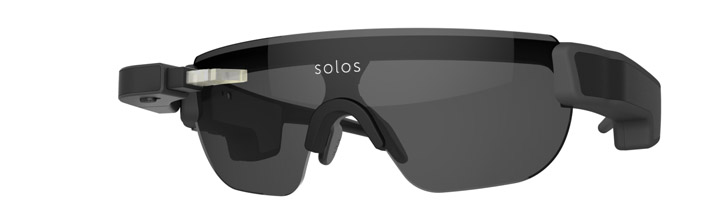 SOLOS Smart Performance Glasses CES 2018